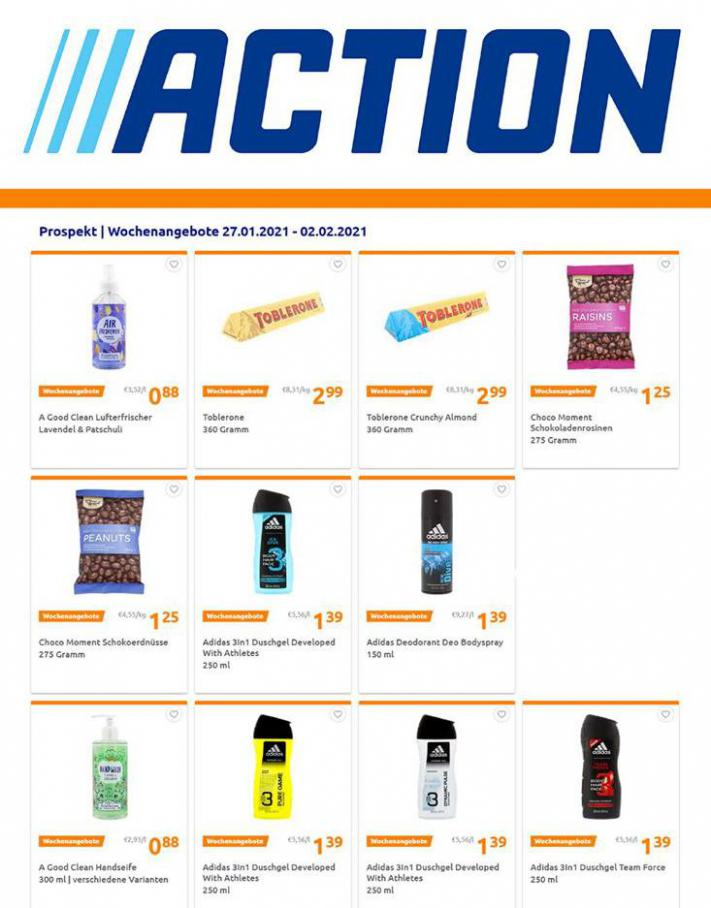 Wochenangebote Prospekt . Action (2021-02-02-2021-02-02)