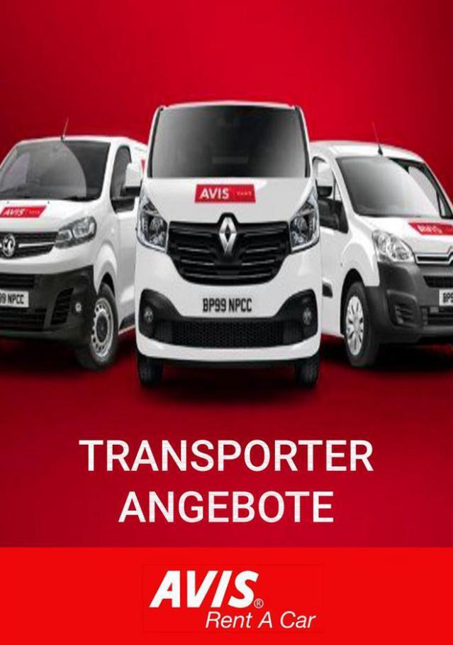 Transporter Angebote  . Avis (2021-01-31-2021-01-31)