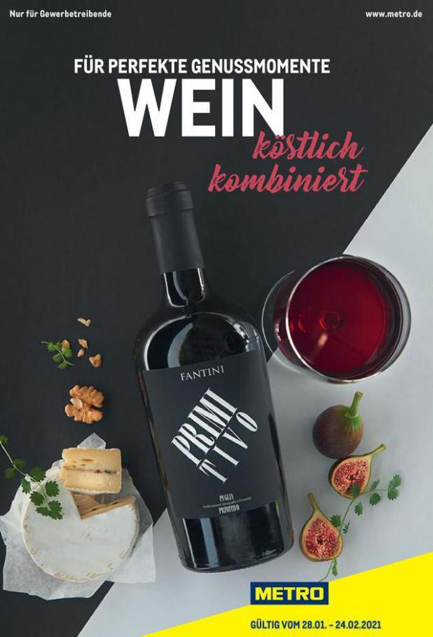 Wein Spezial . Metro (2021-02-24-2021-02-24)