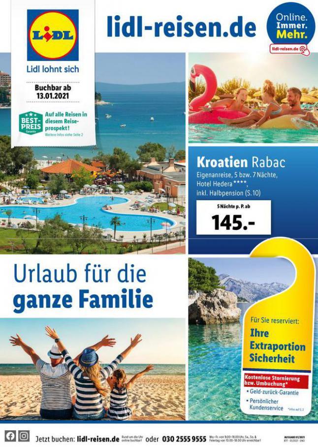 Urlaub für die ganze Familie . Lidl (2021-02-15-2021-02-15)