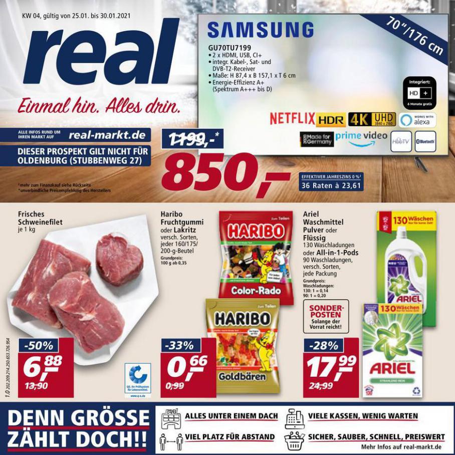 Prospekt Woche 4 . real (2021-01-30-2021-01-30)
