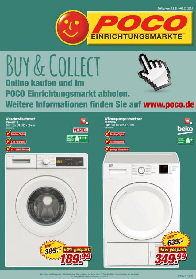 Buy & Collect . Poco (2021-02-05-2021-02-05)