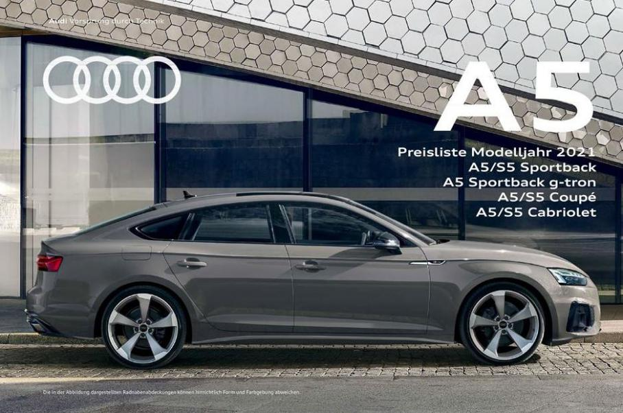 A5 Preisliste Modelljahr 2021 . Audi (2021-12-31-2021-12-31)