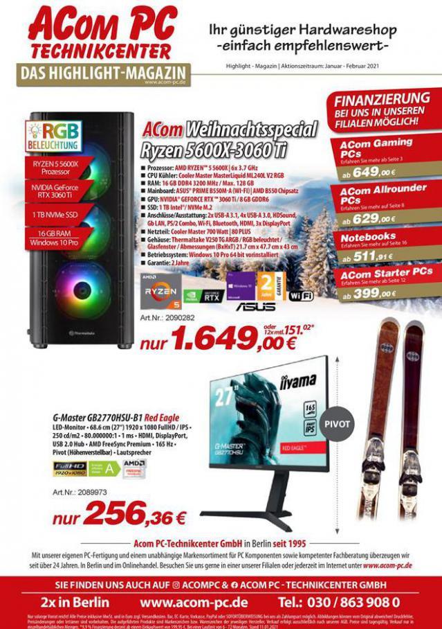 Das Highlight-Magazin . ACom PC (2021-02-15-2021-02-15)
