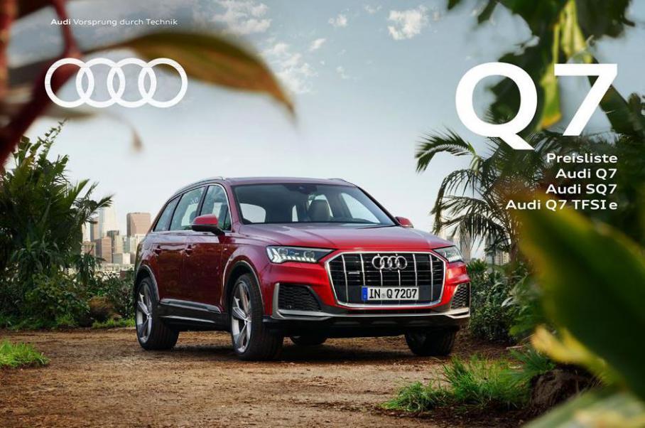 Q7 Preisliste . Audi (2021-12-31-2021-12-31)