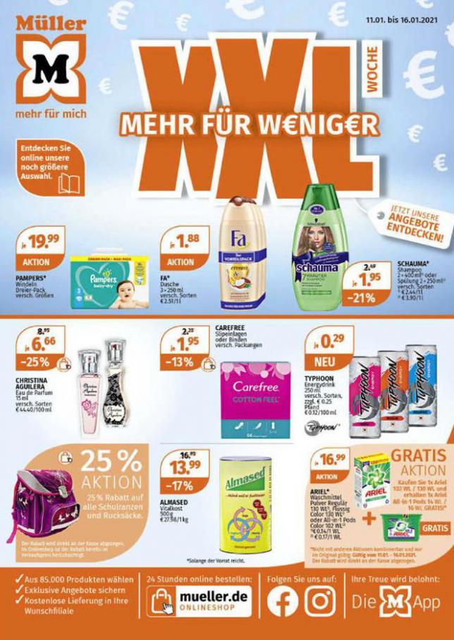 XXL Woche Mehr für W€nig€r . Müller (2021-01-16-2021-01-16)