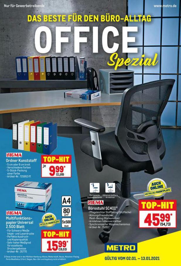 Office Spezial . Metro (2021-01-13-2021-01-13)