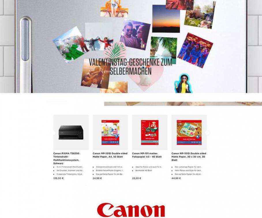 Valentinstag-Geschenke zum Selbermachen . Canon (2021-02-14-2021-02-14)
