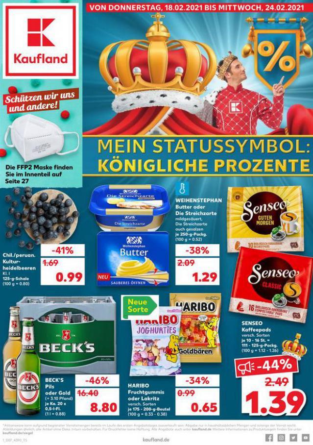 Angebote Kaufland . Kaufland (2021-02-24-2021-02-24)