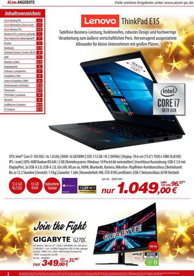 ACom PC Das Highlight-Magazin . ACom PC (2021-03-31-2021-03-31)
