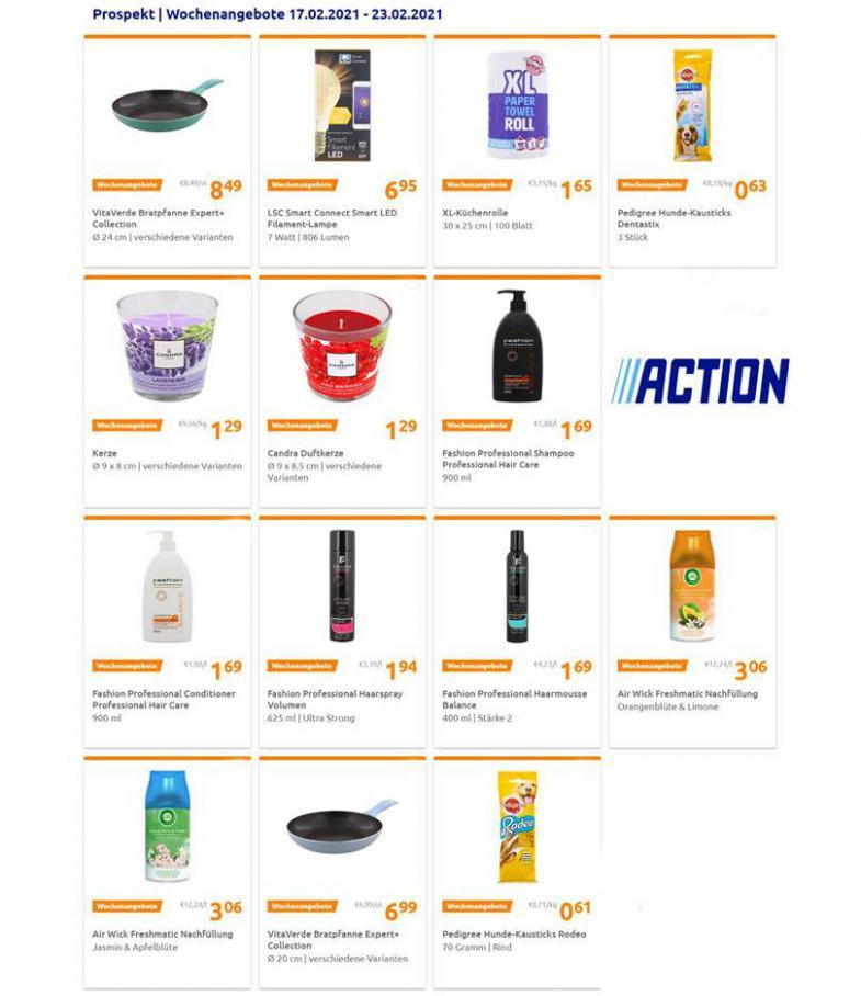 Wochenangebote . Action (2021-02-23-2021-02-23)