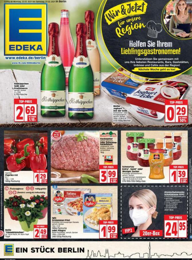 Edeka flugblatt . EDEKA (2021-02-27-2021-02-27)