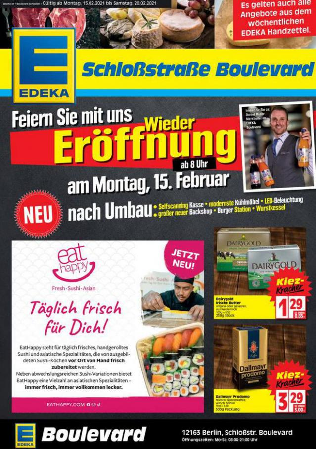 Edeka flugblatt . EDEKA (2021-02-20-2021-02-20)