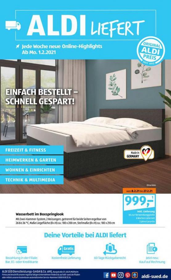 Aldi Süd flugblatt . Aldi Süd (2021-02-11-2021-02-11)