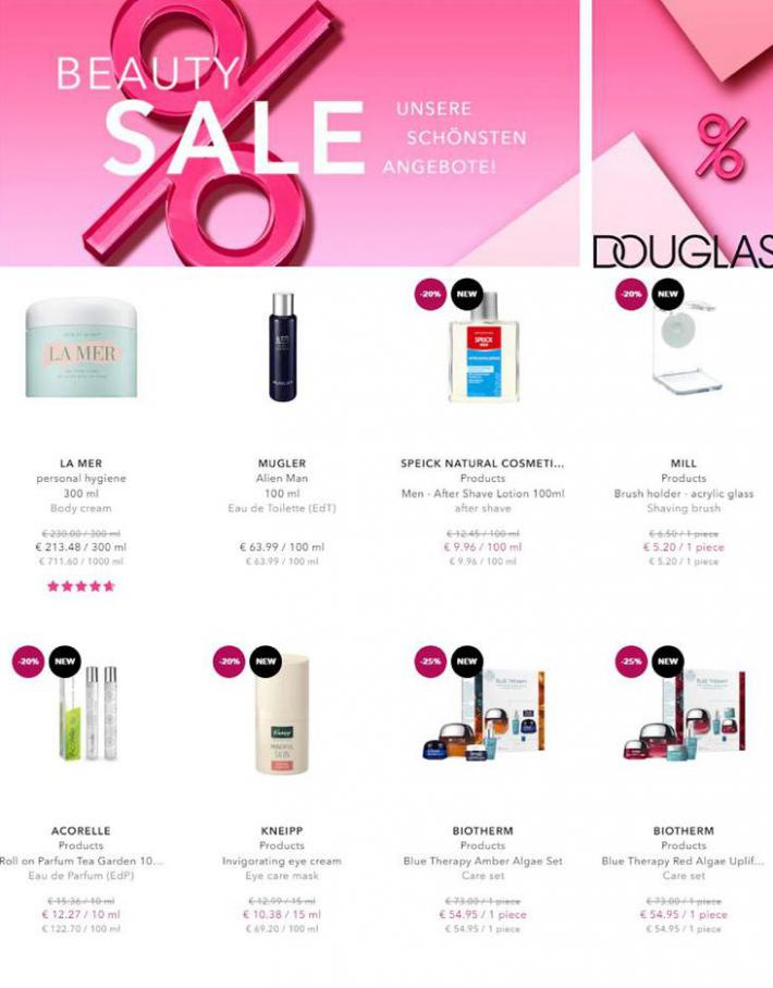 Beauty sale . Douglas (2021-02-15-2021-02-15)