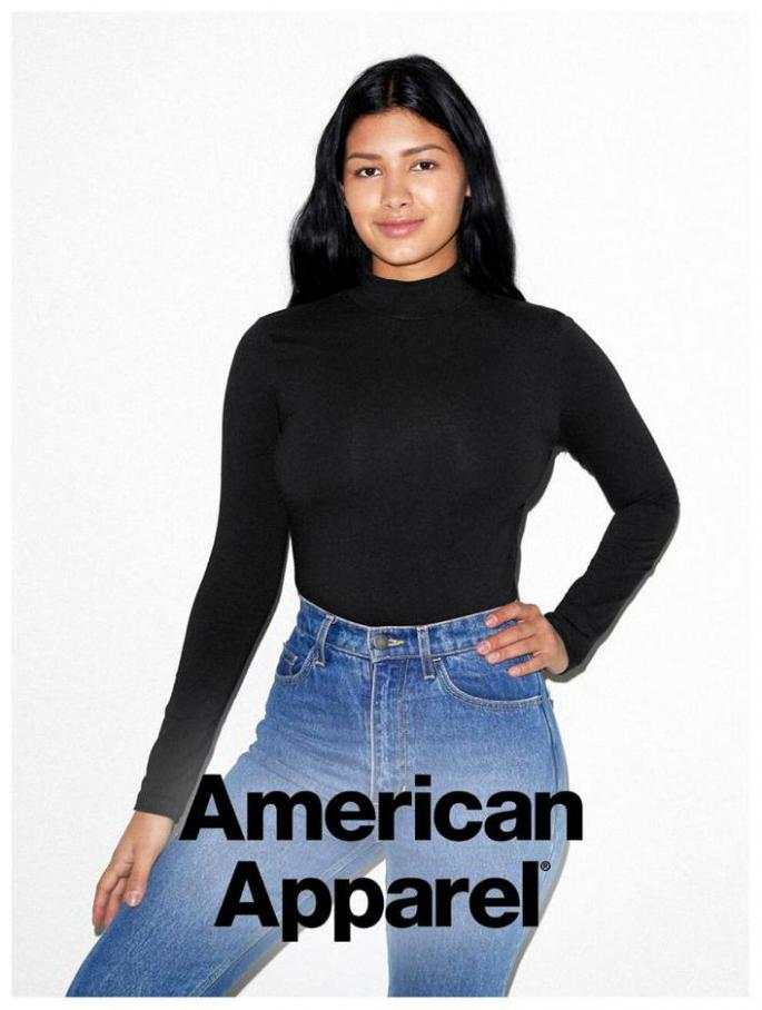 Damen Lookbook . American Apparel (2021-04-01-2021-04-01)
