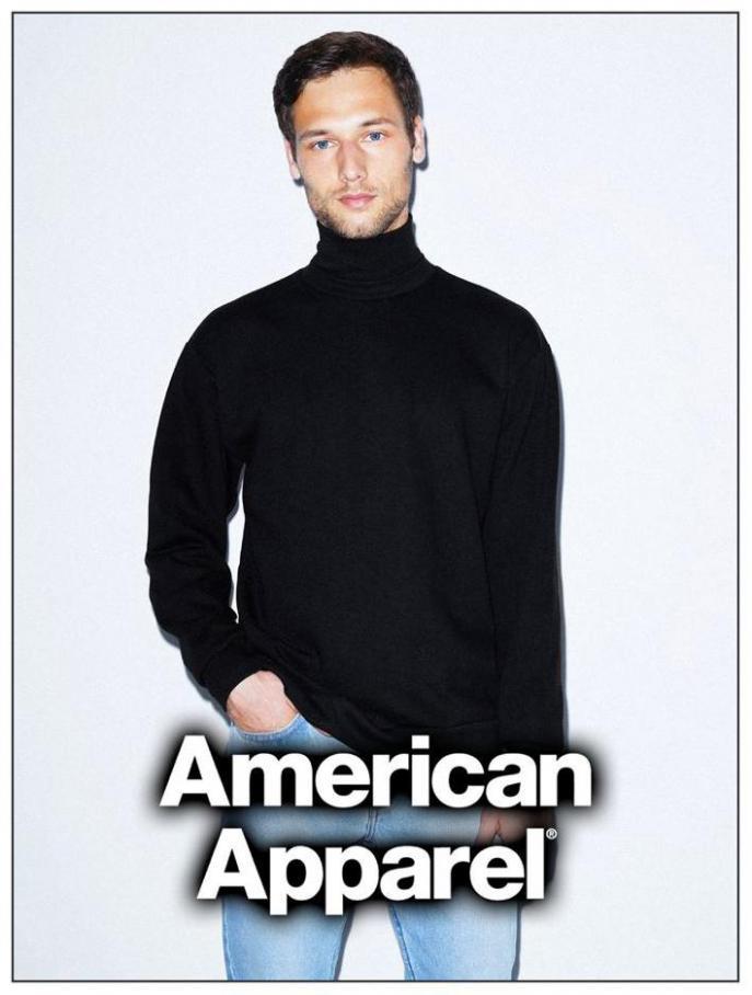 Herren Lookbook . American Apparel (2021-04-01-2021-04-01)