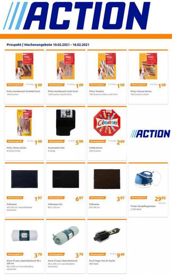 Wochenangebote . Action (2021-02-16-2021-02-16)