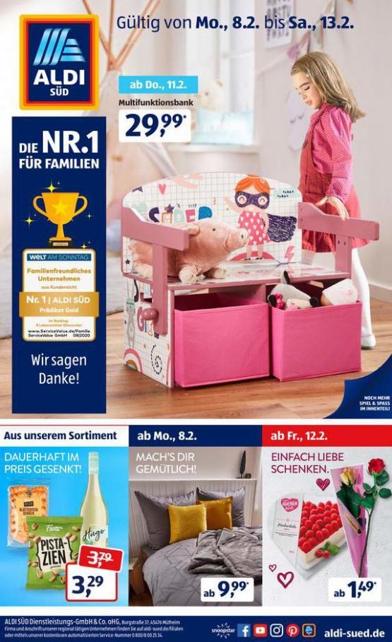 Aldi Süd flugblatt . Aldi Süd (2021-02-13-2021-02-13)