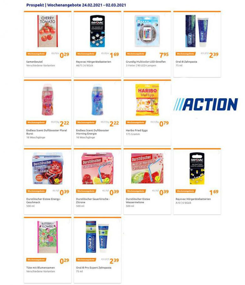 Wochenangebote . Action (2021-03-02-2021-03-02)
