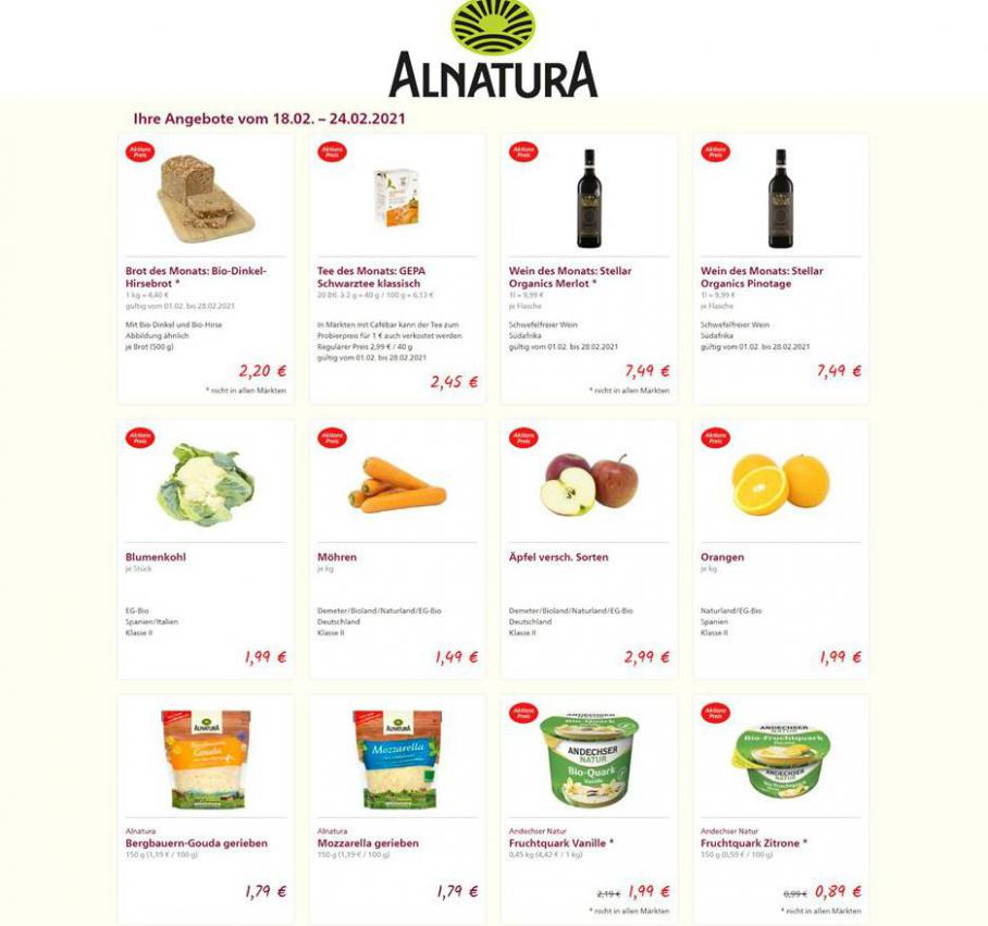 Aktuelle Angebote . Alnatura (2021-02-24-2021-02-24)