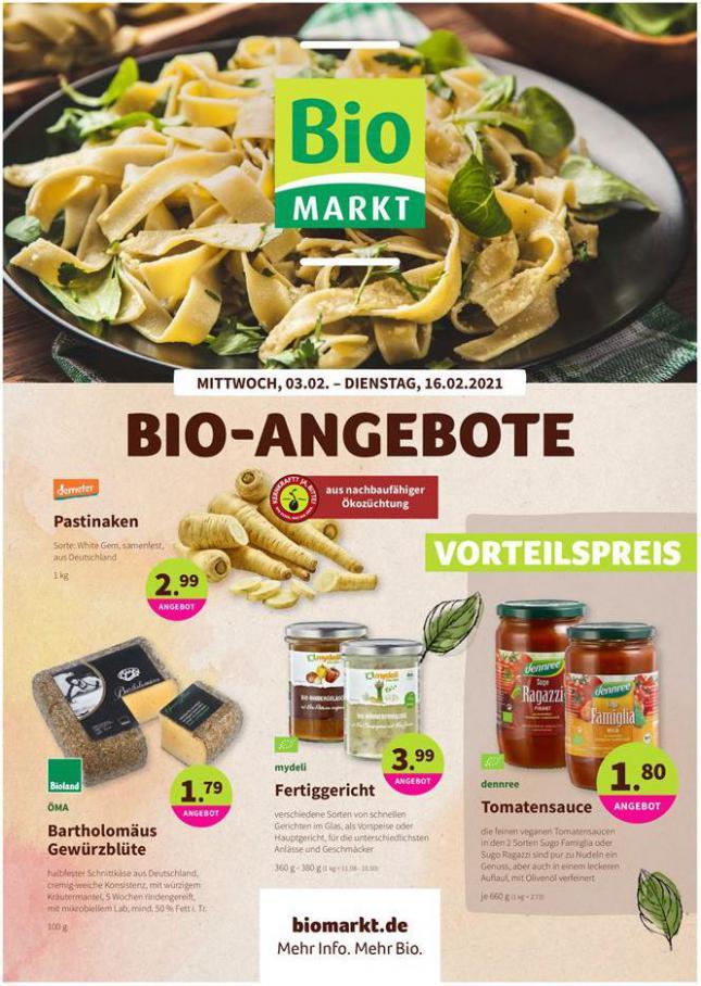 Bio-Angebote . BioMarkt (2021-02-16-2021-02-16)
