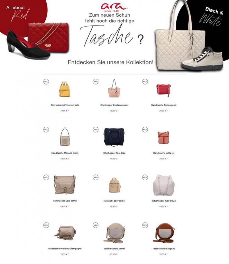 Bags und Portemonnaies für jeden Geschmack . Ara Schuhe (2021-02-23-2021-02-23)