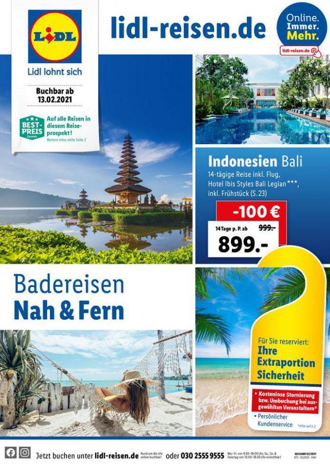 Badereisen Nah & Fern . Lidl (2021-03-15-2021-03-15)
