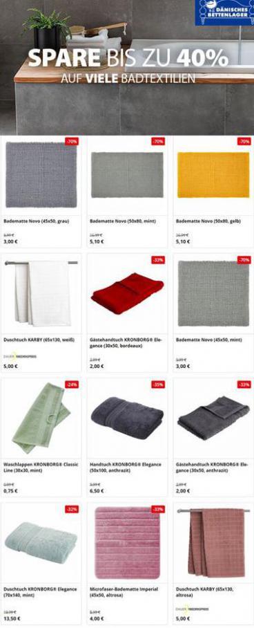 Spare bis zu 40% . Dänisches Bettenlager (2021-02-22-2021-02-22)