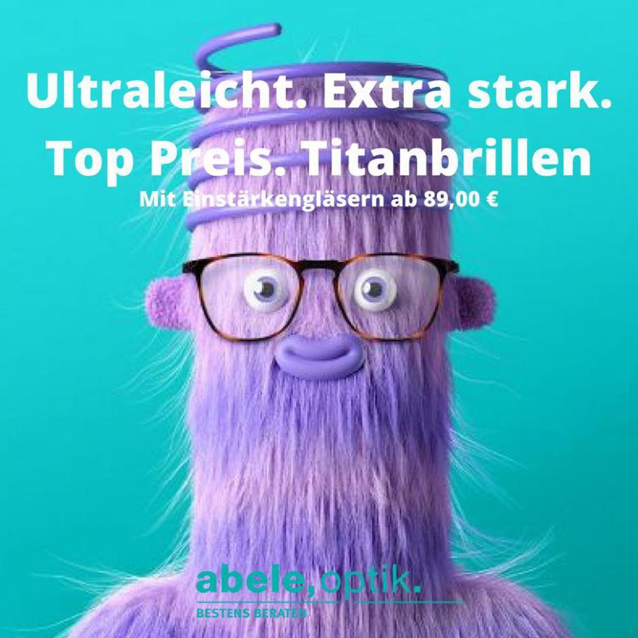 Abele Optik Mit Einstärkengläsern ab 89,00 € . Abele Optik (2021-02-28-2021-02-28)