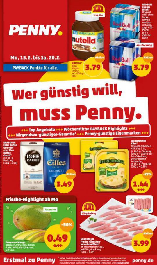 Penny flugblatt . Penny (2021-02-20-2021-02-20)