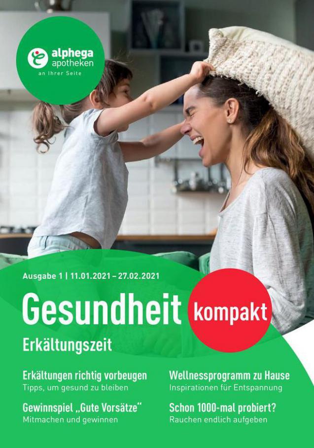 Alphega Gesundheitkompakt 2021 . Alphega Apotheken (2021-02-28-2021-02-28)