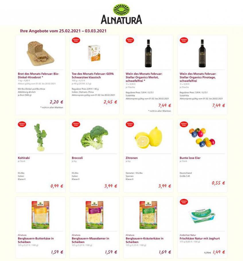 Aktuelle Angebote  . Alnatura (2021-03-03-2021-03-03)