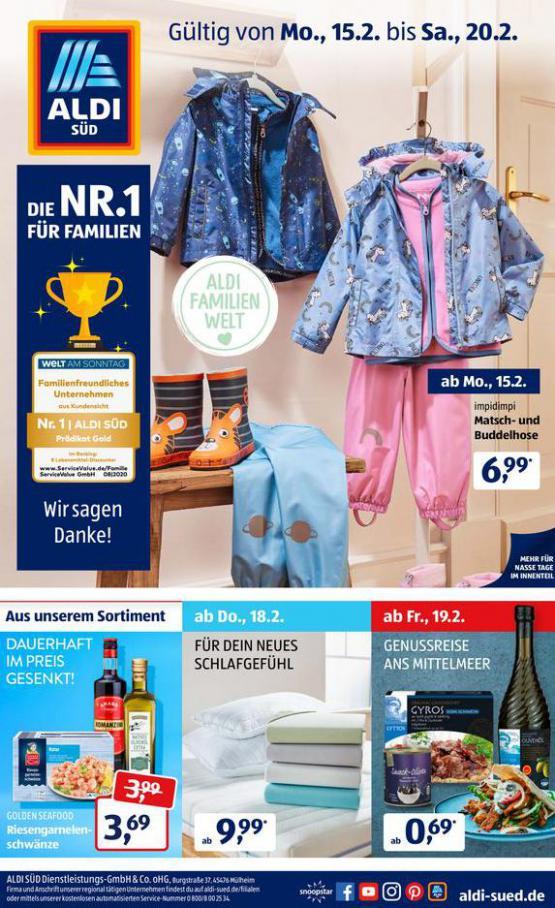 Aldi Süd flugblatt . Aldi Süd (2021-02-20-2021-02-20)