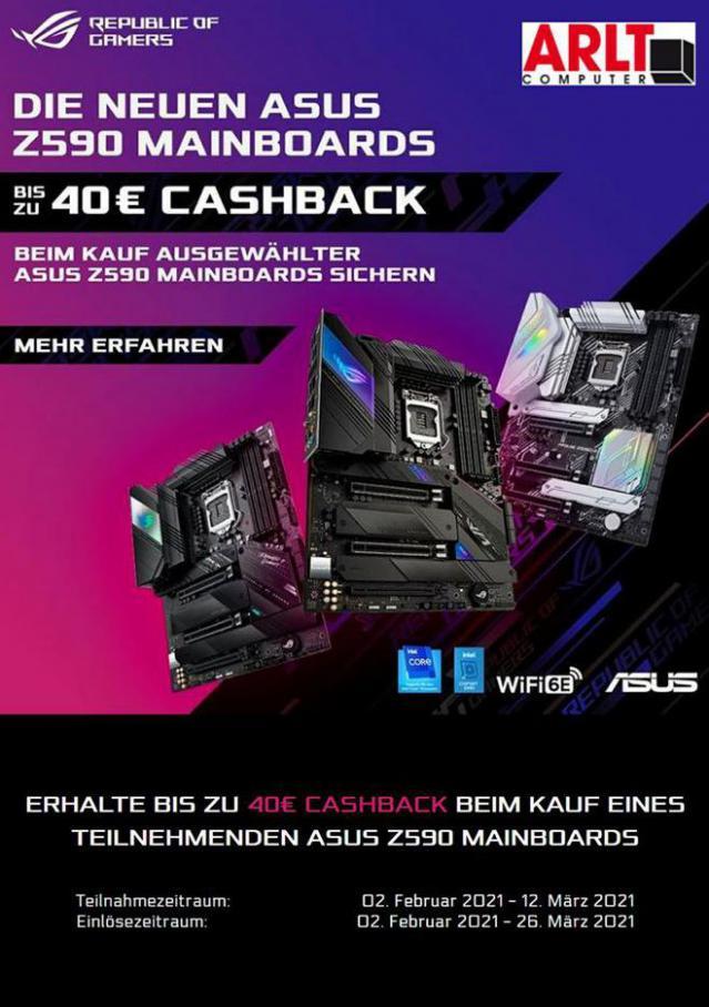 Arlt Asus Launch Z590 Cashback . Arlt (2021-03-12-2021-03-12)