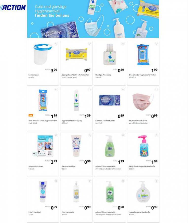 Gute und günstige Hygieneartikel . Action (2021-02-11-2021-02-11)