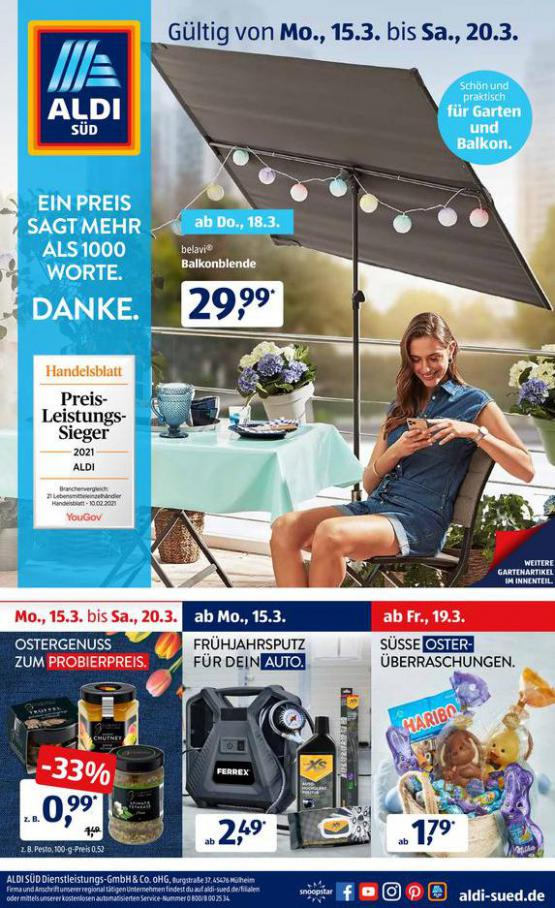 Aldi Süd flugblatt . Aldi Süd (2021-03-20-2021-03-20)