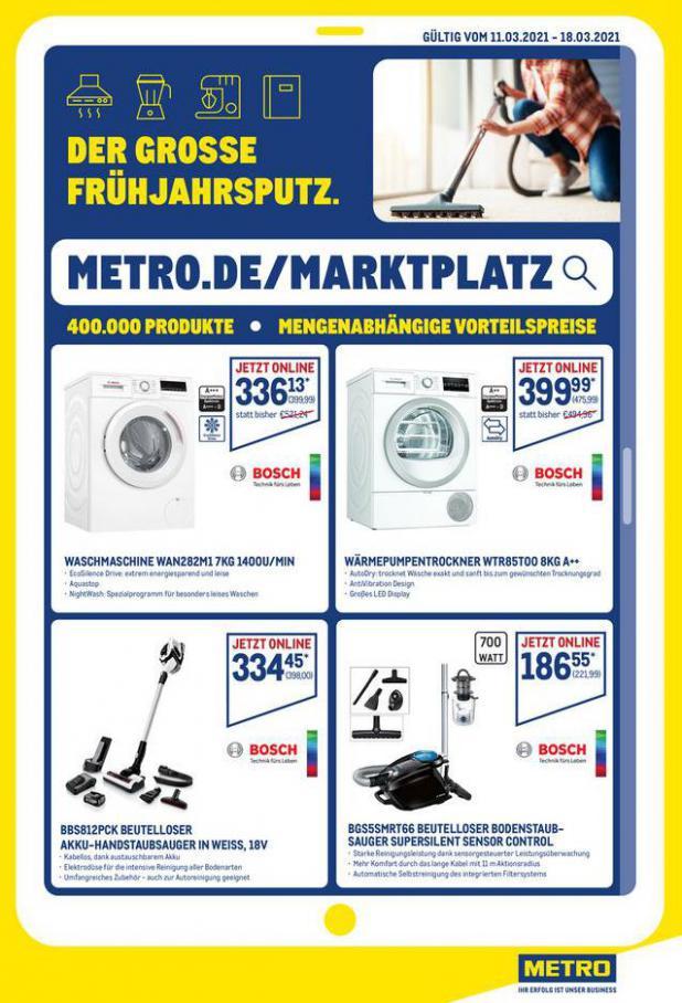 Angebote im Online-Marktplatz . Metro (2021-03-18-2021-03-18)