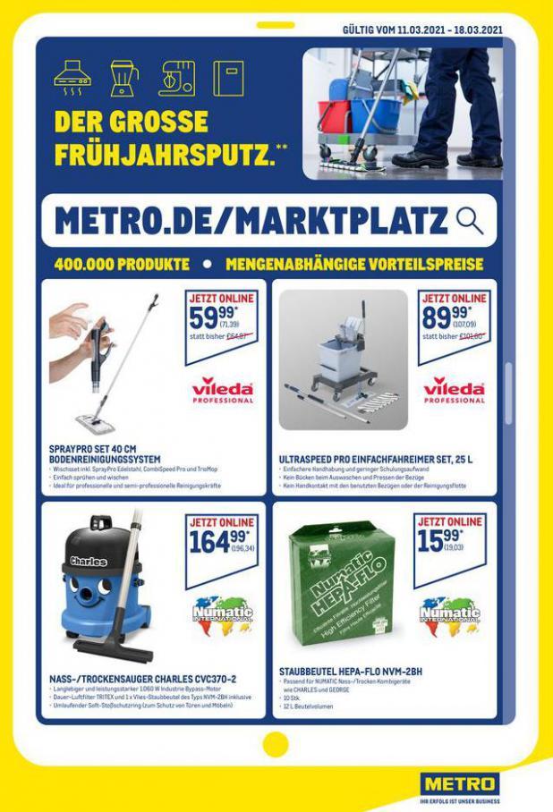 Gastro-Angebote im Online-Marktplatz . Metro (2021-03-18-2021-03-18)