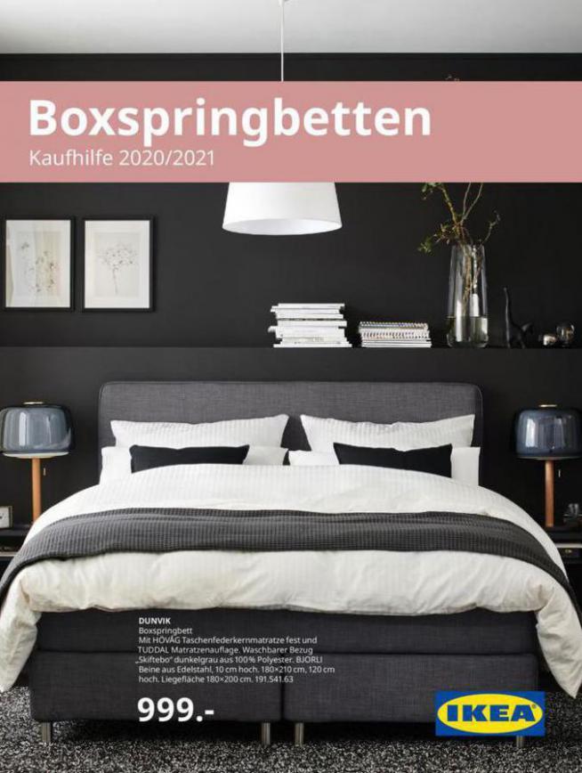 Boxspringbetten 2021 . IKEA (2021-12-31-2021-12-31)
