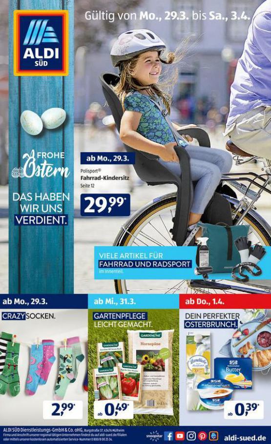 Aldi Süd flugblatt . Aldi Süd (2021-04-03-2021-04-03)