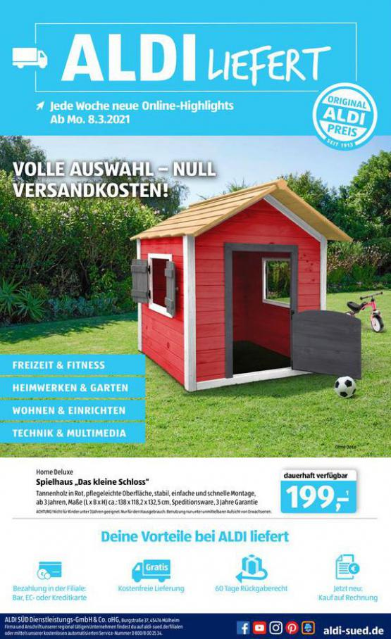 Aldi Süd flugblatt . Aldi Süd (2021-03-18-2021-03-18)