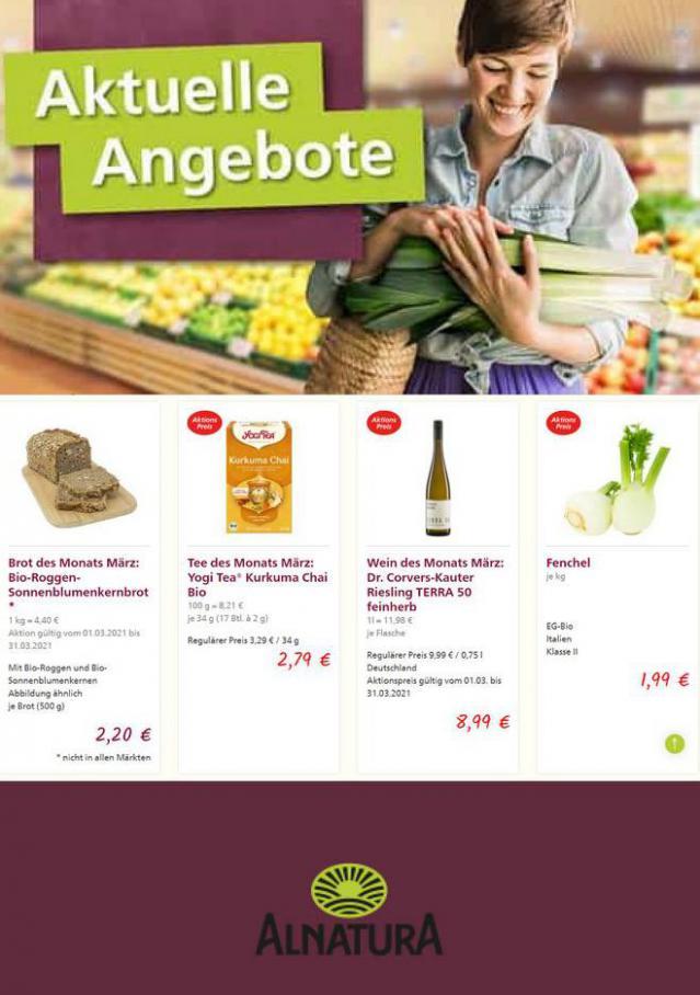 Aktuelle Angebote . Alnatura (2021-03-24-2021-03-24)