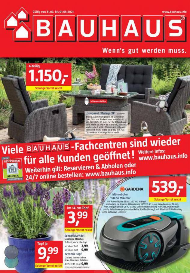 BAUHAUS Pospekt  . Bauhaus (2021-05-01-2021-05-01)