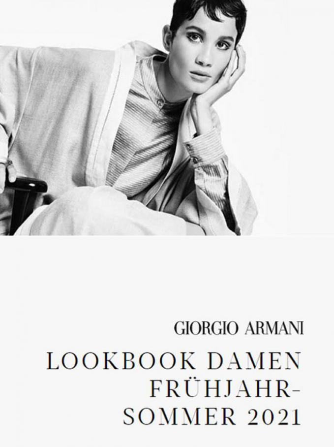 LOOKBOOK DAMEN FRÜHJAHR-SOMMER 2021 . Armani (2021-05-16-2021-05-16)