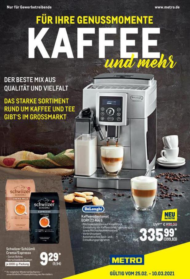 Kaffee Spezial . Metro (2021-03-10-2021-03-10)