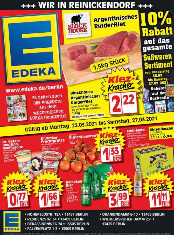 Edeka flugblatt . EDEKA (2021-03-27-2021-03-27)