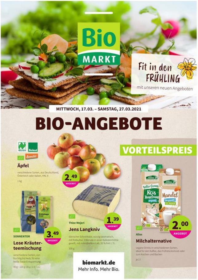 Angebote Prospekt  . BioMarkt (2021-03-27-2021-03-27)
