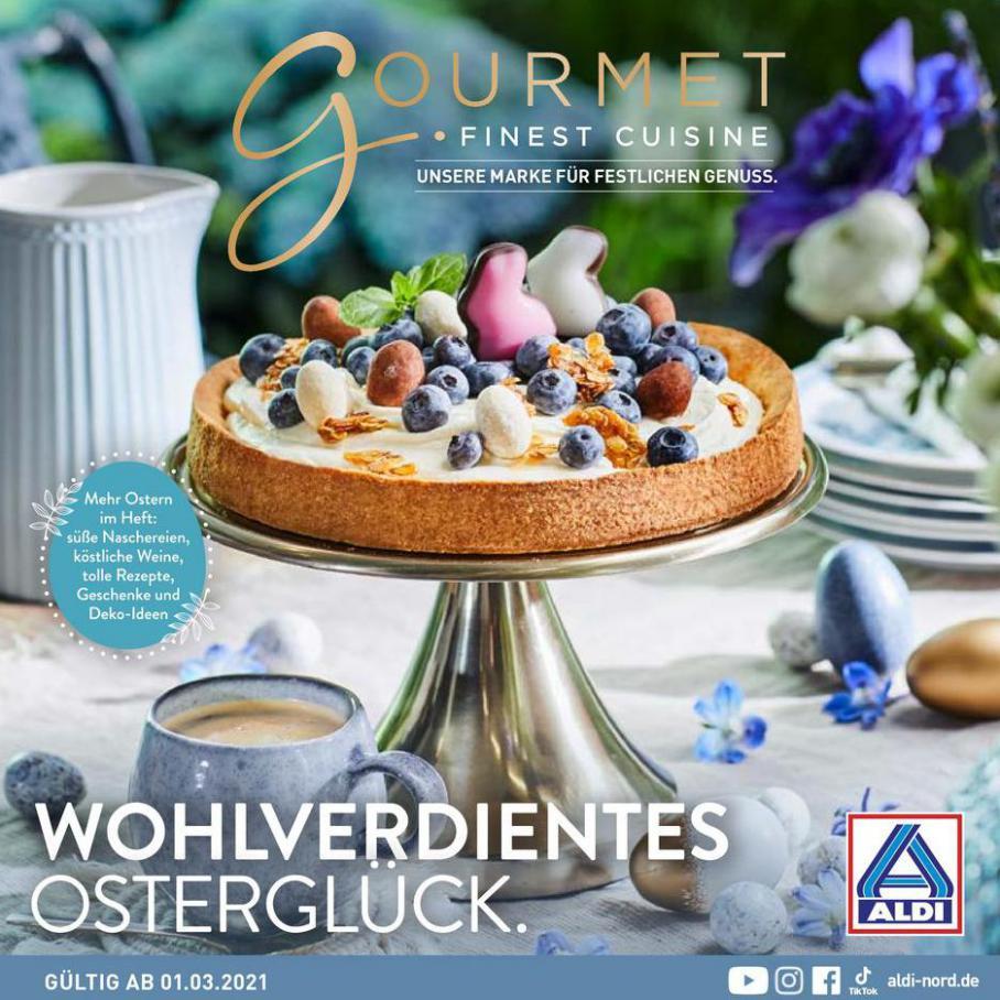ALDI Gourmet Finest Cuisine . Aldi Nord (2021-03-04-2021-03-04)