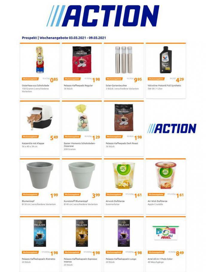 Wochenangebote . Action (2021-03-09-2021-03-09)